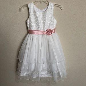 Girl's Size 8 Formal Celebration Dress